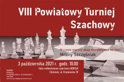 VIII Powiatowy Turniej Szachowy