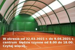Funkcjonowanie Centrum Sportowego w Chełmku