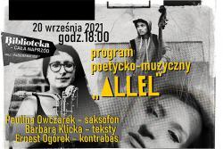 """program  poetycko-muzyczny """"ALLEL"""""""
