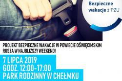 Projekt Bezpieczne Wakacje - Park Rodzinny w Chełmku