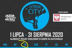 Extreme city - projekt szkoleniowy w Skateparku