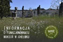 Informacja o funkcjonowaniu MOKSiR w Chełmku