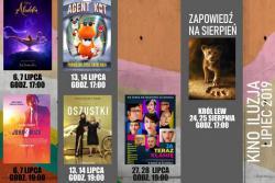 Repertuar kina ILUZJA w lipcu 2019 r.