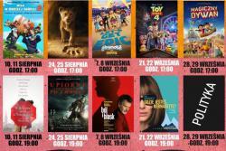 Repertuar kina ILUZJA w sierpniu - wrześniu 2019 r.