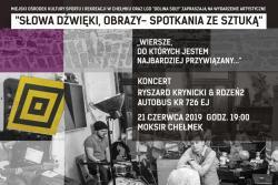 """""""WIERSZE, DO KTÓRYCH JESTEM NAJBARDZIEJ PRZYWIĄZANY..."""" koncert Ryszard Krynicki & Rdzeń2, Autobus KR 726 EJ"""