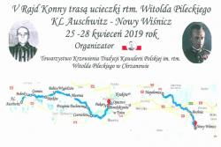 V Rajd Konny trasą ucieczki rtm. Witolda Pileckiego