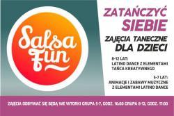 Zatańcz siebie! Zajęcia taneczne dla dzieci z Salsa Fun!