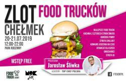 Pierwszy Zlot Food Trucków w Chełmku !!! Park Rodzinny